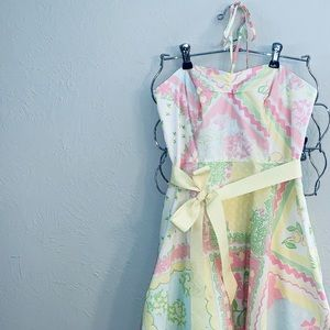 Lilly Pulitzer A-Line Strapless Dress